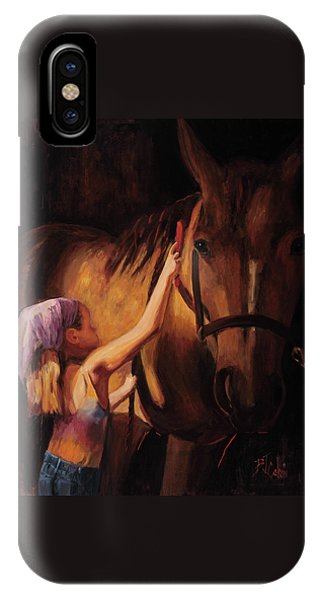 For iPhone Case - A Girls First Love by Billie Colson