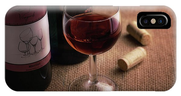 Vino iPhone Case - A Glass Of Wine by Tom Mc Nemar
