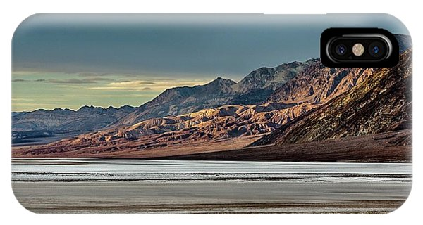 A Glow On The Amargosa Range IPhone Case