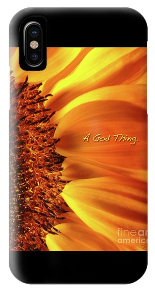 A God Thing-2 IPhone Case