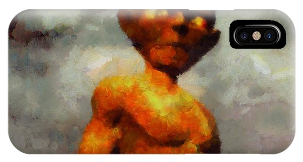 Strange iPhone Case - A Gollum by Esoterica Art Agency