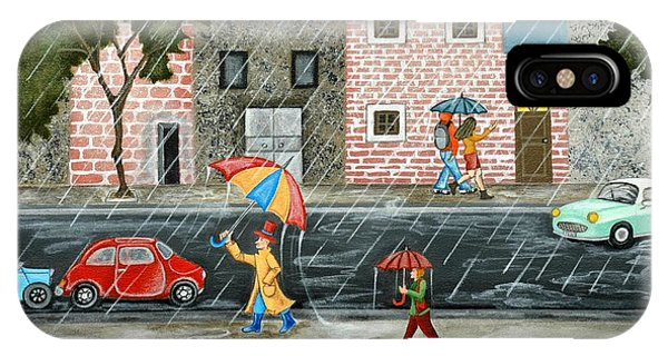 A Great Rainy Day IPhone Case