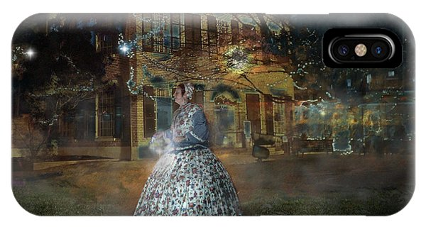 A Haunted Story In Dahlonega IPhone Case
