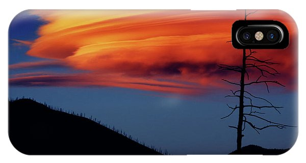A Haunting Sunset IPhone Case