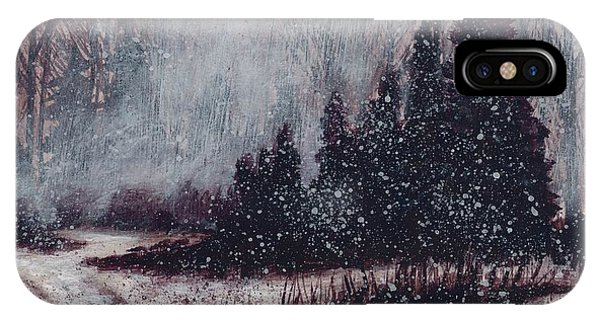 A Hazy Shade Of Winter  IPhone Case