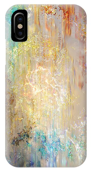 IPhone Case featuring the painting A Heart So Big - Custom Version 5 - Abstract Art by Jaison Cianelli