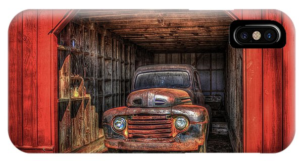 A Hiding Place 1949 Ford Pickup Truck IPhone Case