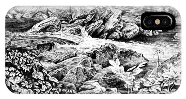 A Hiker's View - Landscape Print IPhone Case