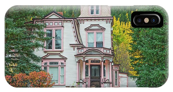 A Historical Treasure Constructed In 1870, Maxwell House, Georgetown, Colorado  IPhone Case