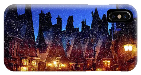 A Hogsmeade Christmas IPhone Case