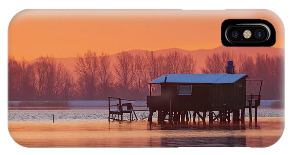 A Hut On The Water IPhone Case