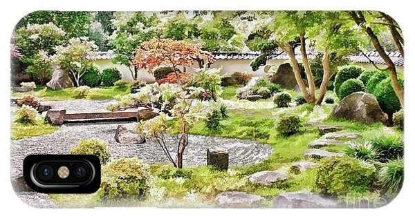 A Japanese Zen Garden IPhone Case