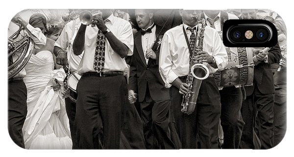 A Jazz Wedding In New Orleans IPhone Case