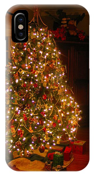 A Jewel Of A Christmas Tree IPhone Case