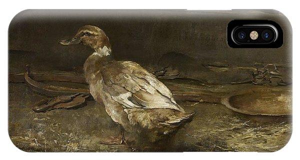 A Khaki Campbell Duck - Sir George Pirie IPhone Case