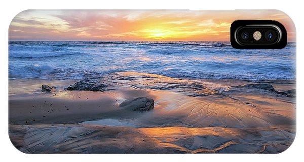 A La Jolla Sunset #1 IPhone Case