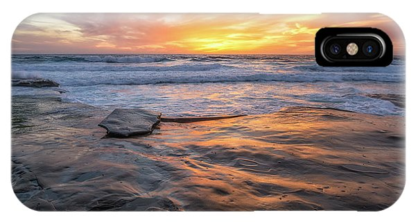 A La Jolla Sunset #2 IPhone Case