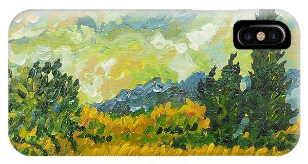 A La Van Gogh IPhone Case