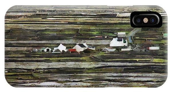 A Landscape With A Farm IPhone Case