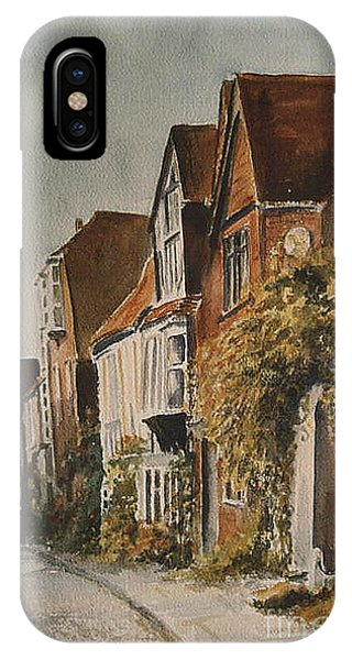 A Lane In Rye IPhone Case