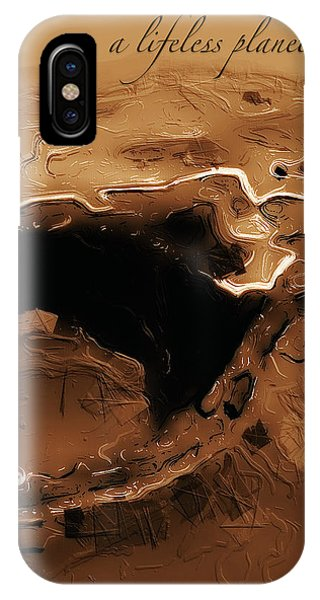 A Lifeless Planet Brown IPhone Case