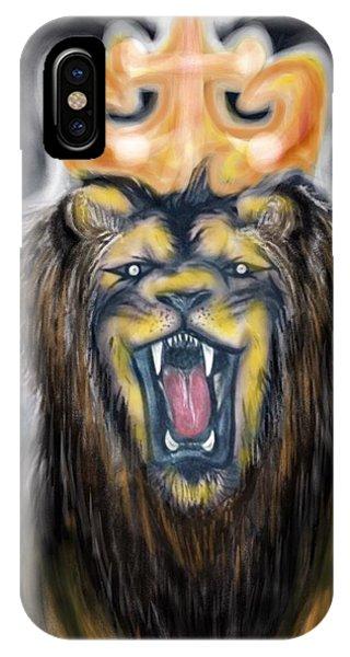 A Lion's Royalty IPhone Case