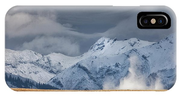 IPhone Case featuring the photograph A Little Gust by Denise Bush