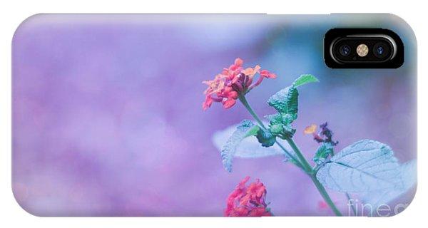 A Little Softness, A Little Color - Macro Flowers IPhone Case