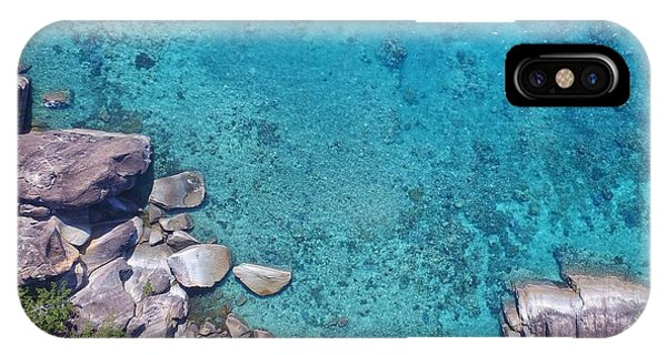 A Little Square Of Paradise  IPhone Case