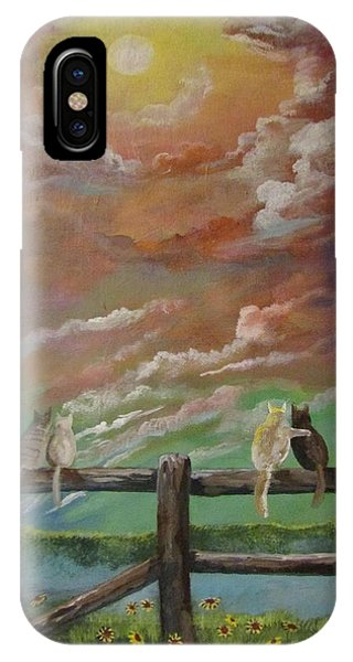 A Springtime Lovers Moon IPhone Case