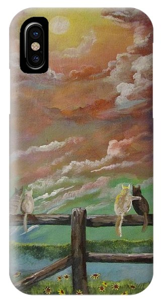 A Lovers Moon IPhone Case