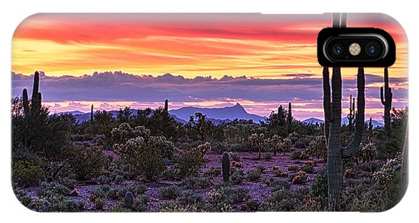 A Magical Desert Morning  IPhone Case