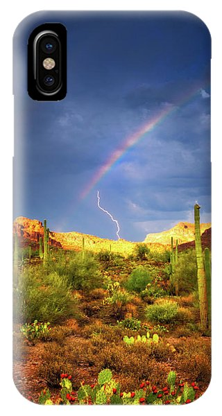 A Miracle Of Timing IPhone Case