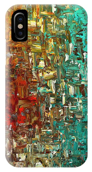 A Moment In Time - Abstract Art IPhone Case