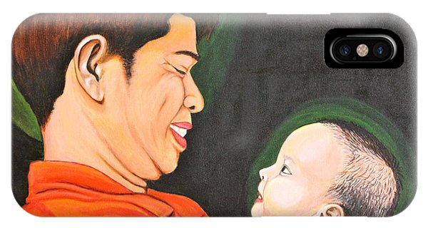 A Moment With Dad IPhone Case
