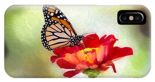 A Monarch Moment IPhone Case