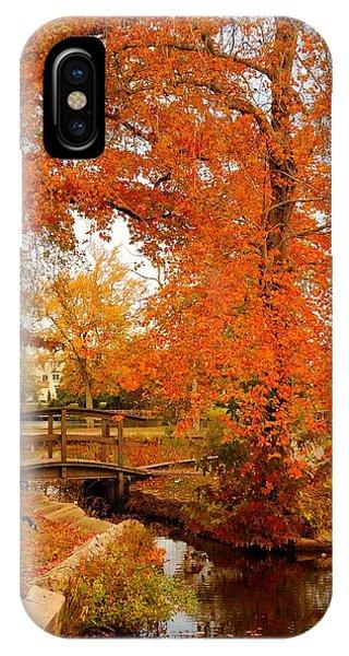 A Morning In Autumn - Lake Carasaljo IPhone Case