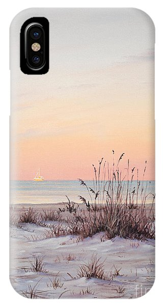 A Morning Stroll IPhone Case