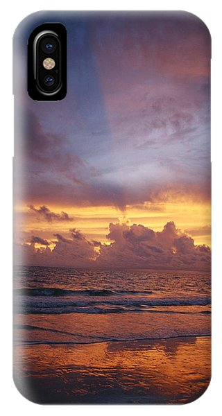 A Multi-hued Sunset Over Marco Island IPhone Case
