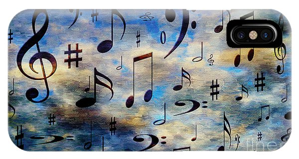 A Musical Storm 3 IPhone Case