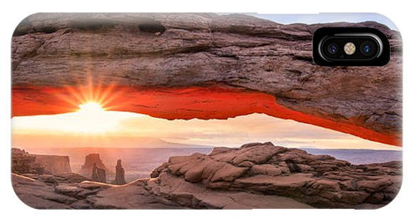 Us National Parks iPhone Case - A New Day by Mikes Nature