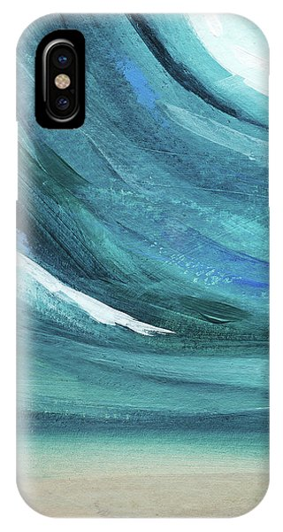 Waves iPhone Case - A New Start- Art By Linda Woods by Linda Woods