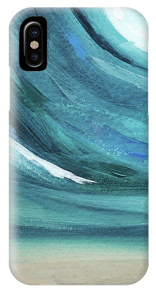 A New Start- Art By Linda Woods IPhone Case