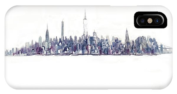 A New Year In Manhattan IPhone Case