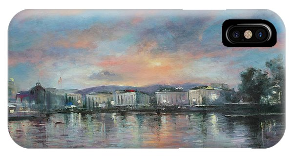 A Night At Geneva IPhone Case