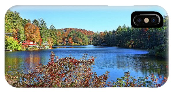 A North Carolina Autumn IPhone Case