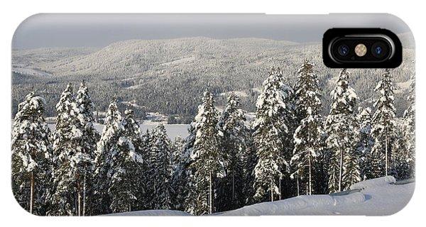 A Norwegian Valley  IPhone Case