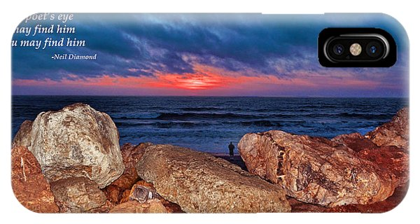 A Painted Sky For The Poet's Eye IPhone Case