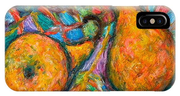 IPhone Case featuring the painting A Pair by Kendall Kessler