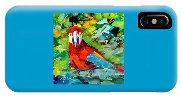 Papagalos IPhone Case